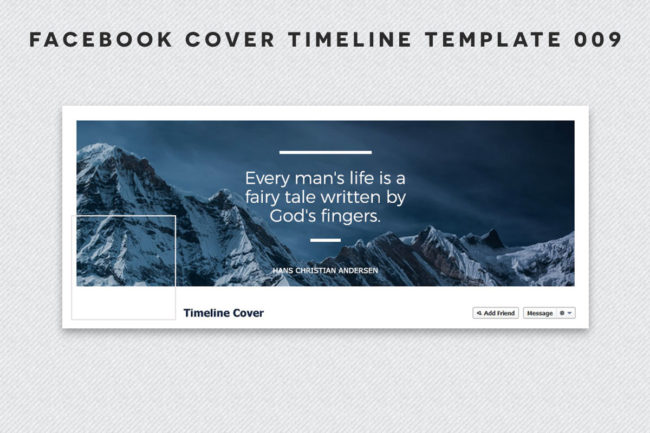 Facebook Cover Timeline Template 9