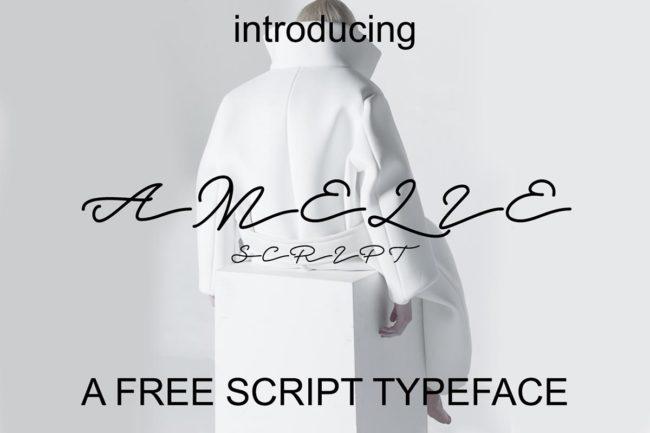 Free Amelie Script Font