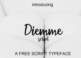Free Diemme Script Font