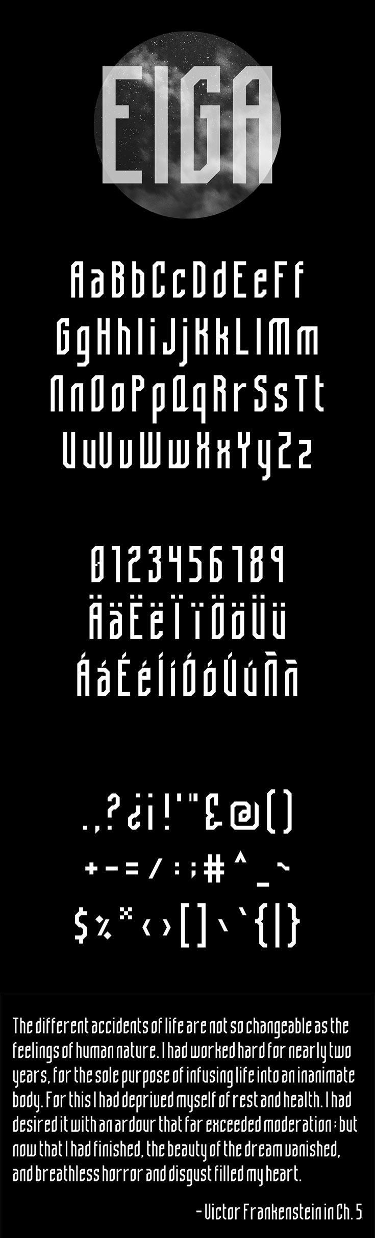 Free Eiga Sans Serif