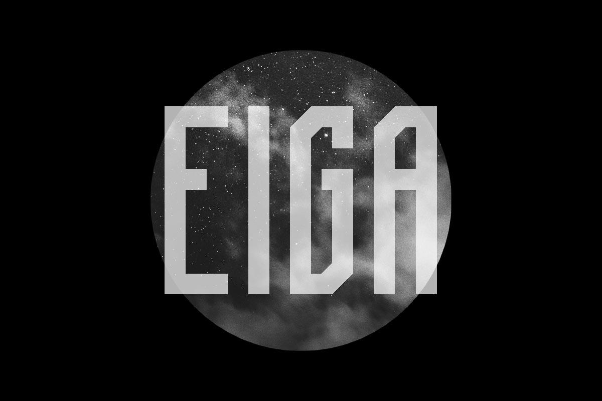 Free Eiga Sans Serif Font