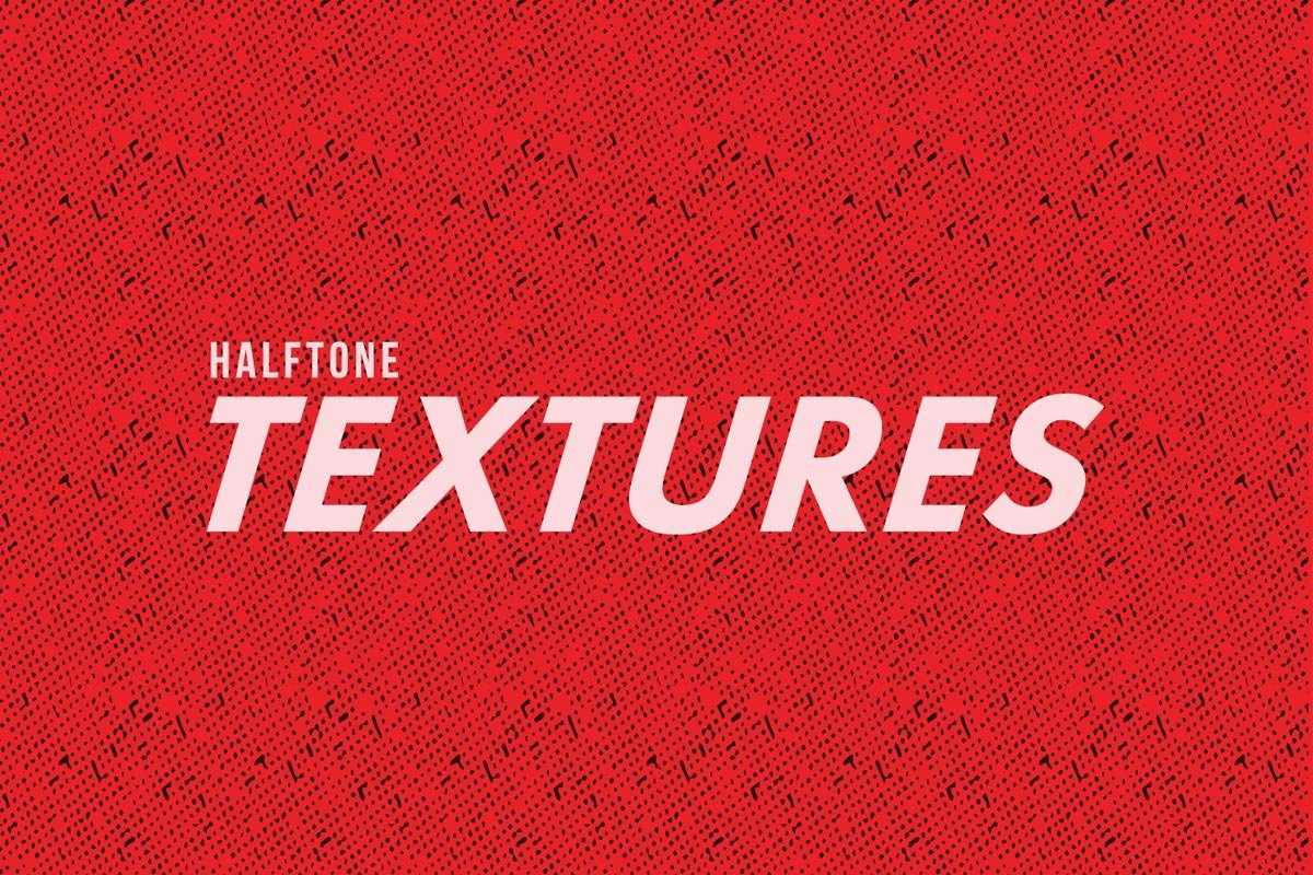 Free Halftone Textured Pack
