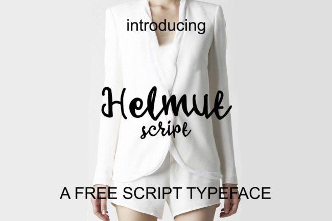 Free Helmut Script Font