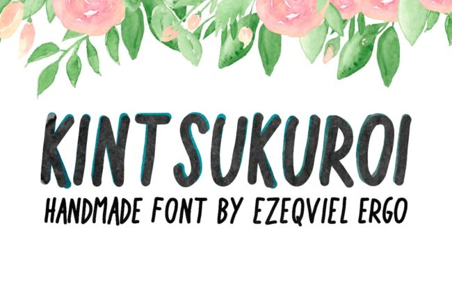 Fee Kintsukuroi Handwriting Font