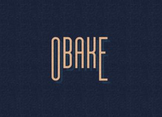Free Obake Display Font