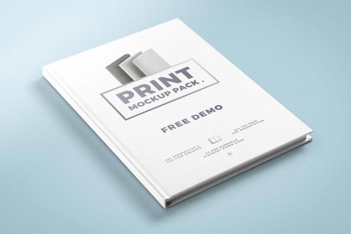Free Print Mockup Pack