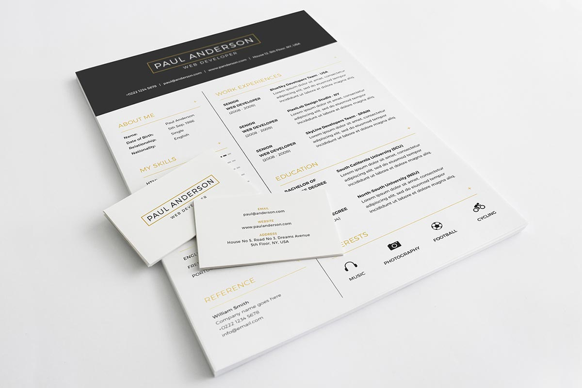 Free clean resume template creativetacos free clean resume template flashek