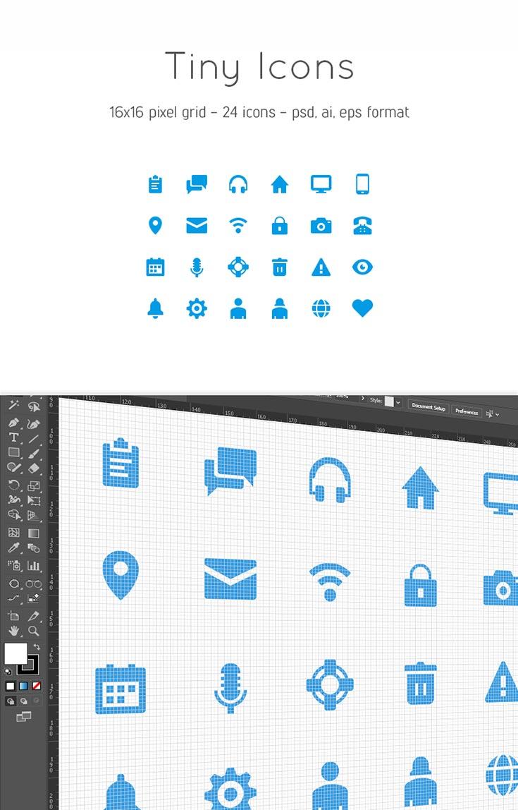 Free Tiny Icons
