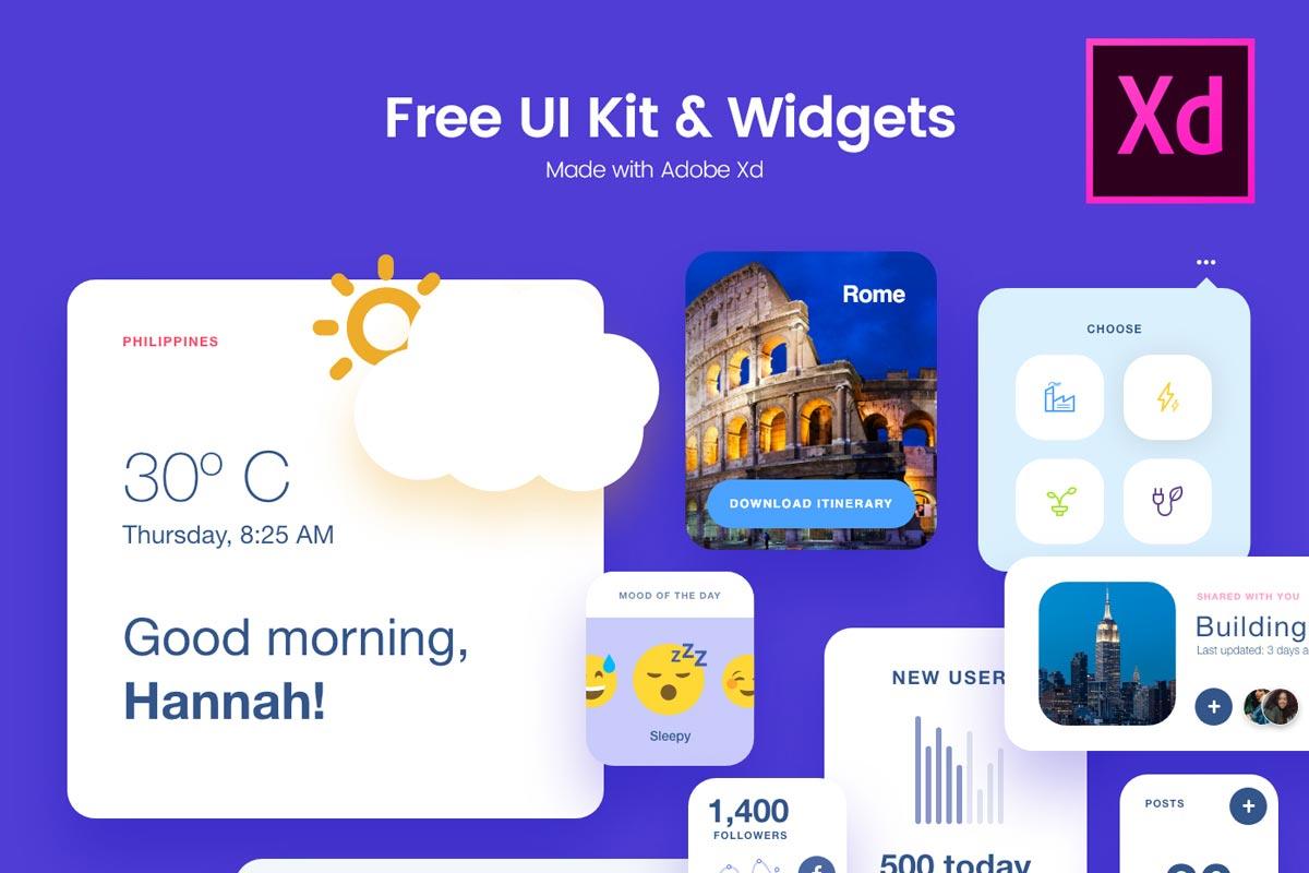 UI Kit & Widgets