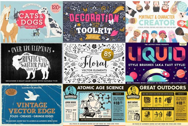 Save $2503 on The Inspiring, Creative Vector Collection