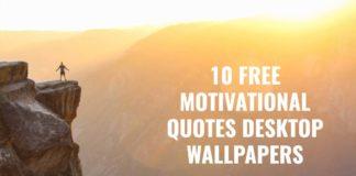 10 Free Motivational Desktop Wallpaper Quotes