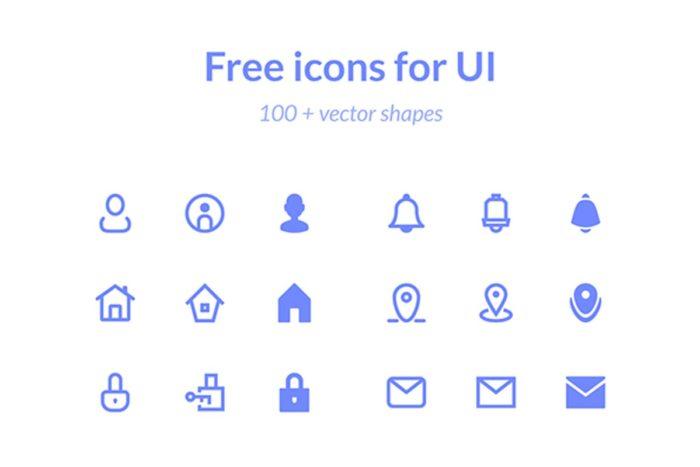 Basic Icons UI