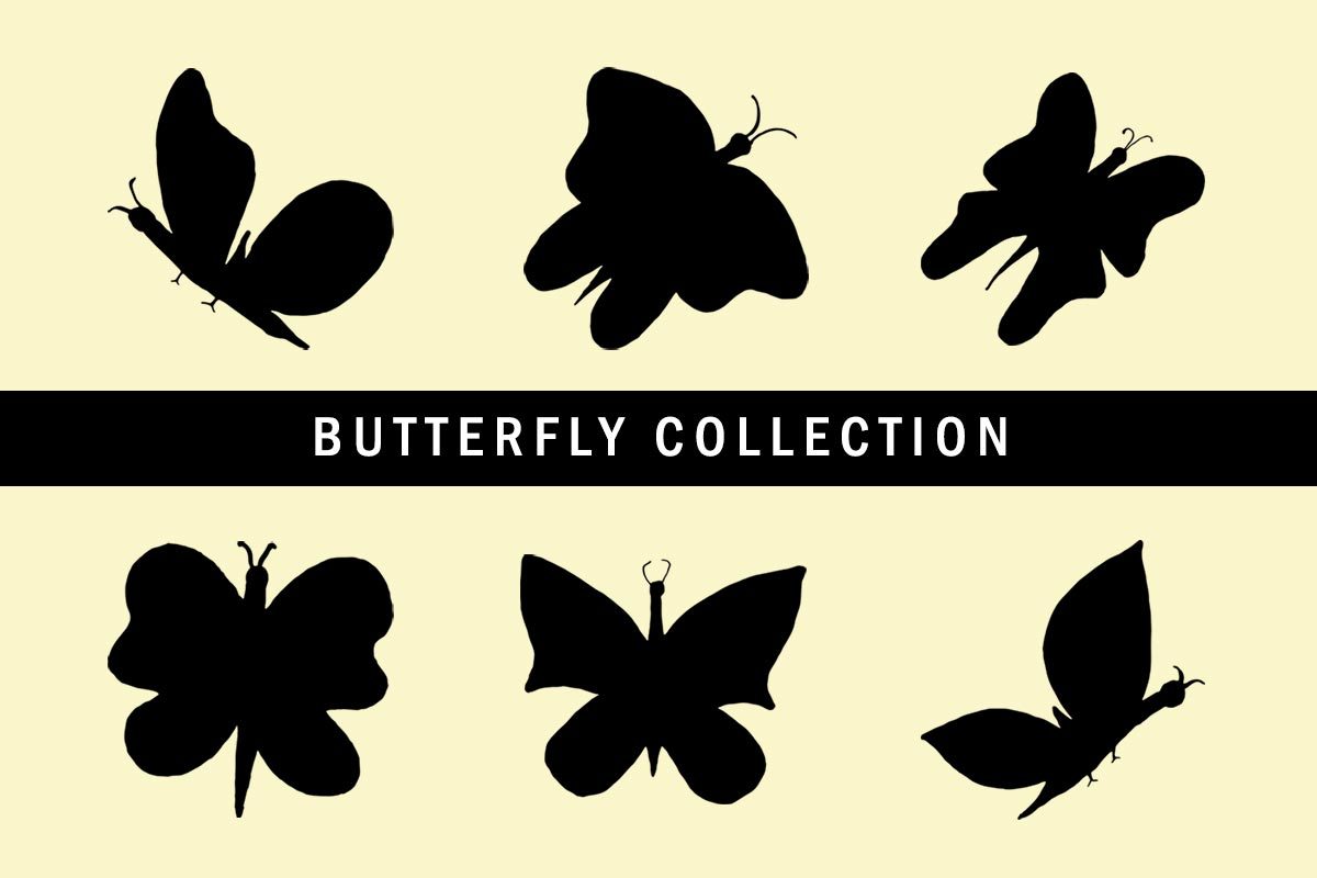 6 Free Butterfly Clipart