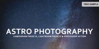 Free Astro Photography Lightroom Presets