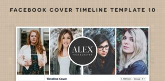 Free Facebook Cover Timeline Template 10