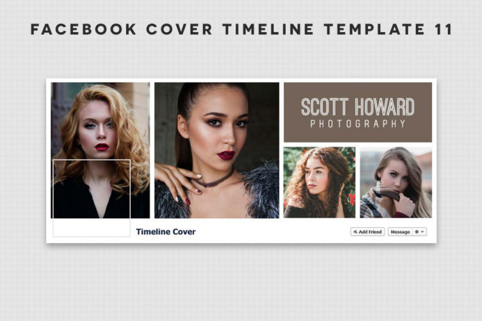 Free Facebook Cover Timeline Template 11