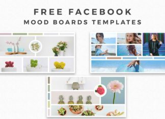Free Facebook Mood Board Templates