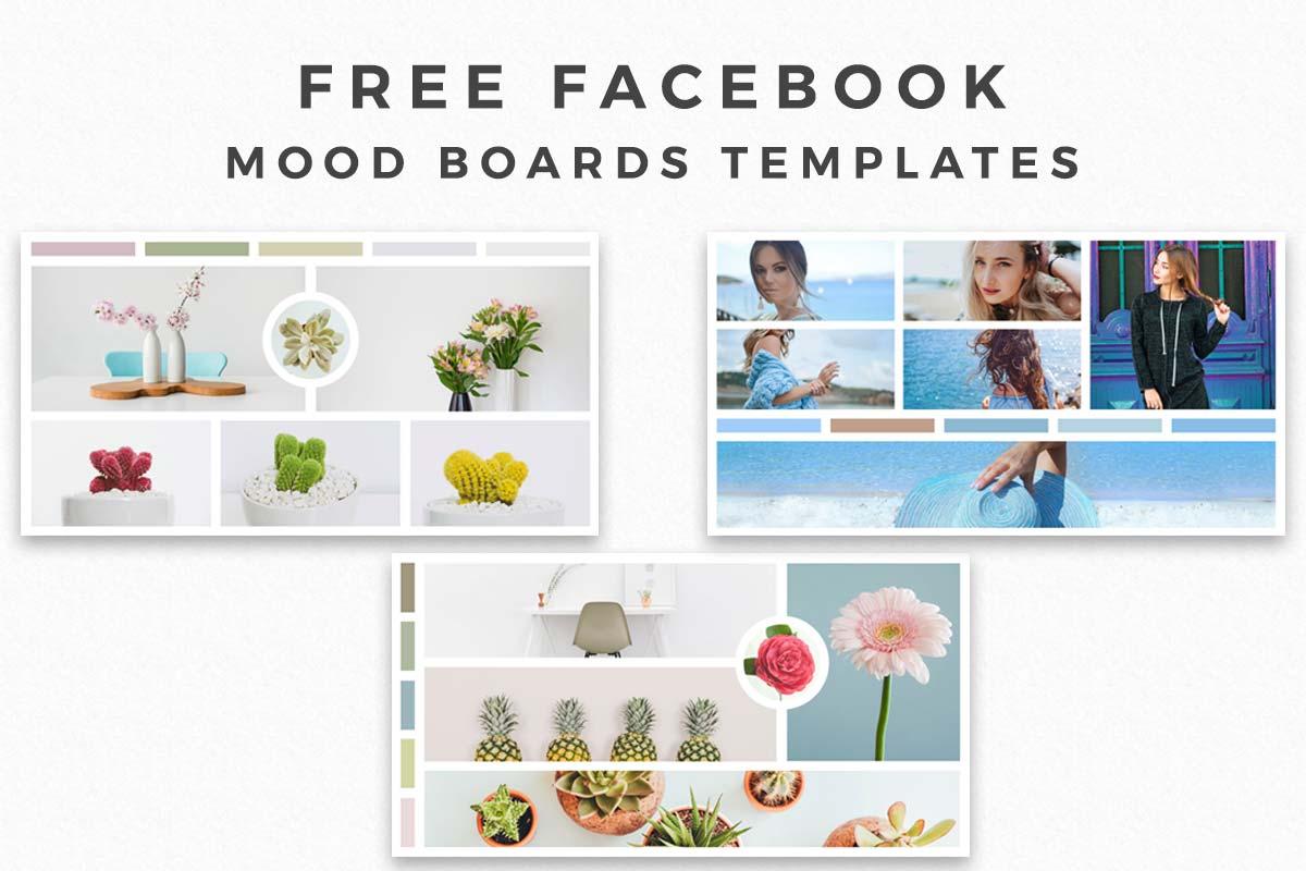 Free Facebook Mood Board Templates