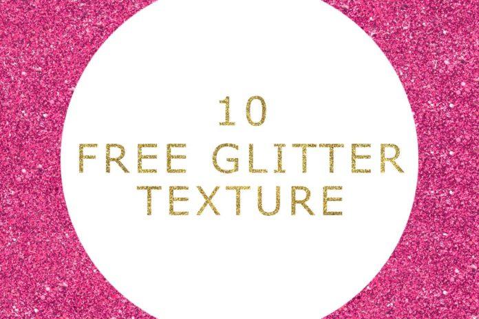 10 Free Glitter Texture