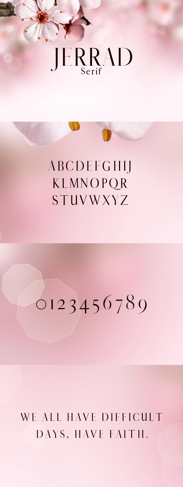 Free Jerrad Serif Demo Font