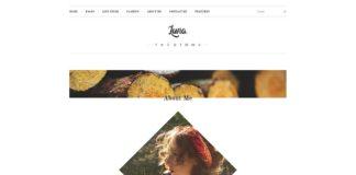 Free Luna PSD Template
