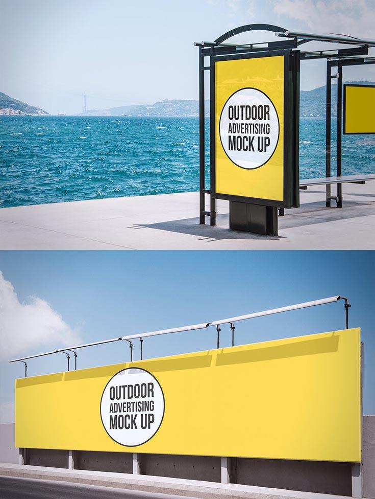 Free Outdoor Advertising Demos