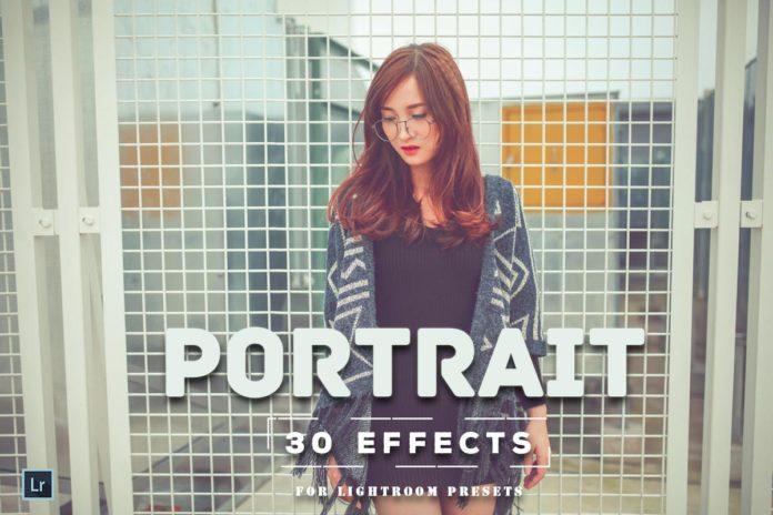 Free Portrait Effect Lightroom Presets