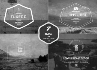 7 Free Retro Insignia Logos Badges