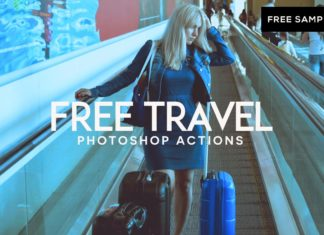 Free Travel Photoshop Actions
