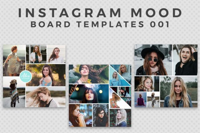 3 Free Instagram Mood Board Template V.1