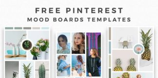 Free Pinterest Mood Board Templates