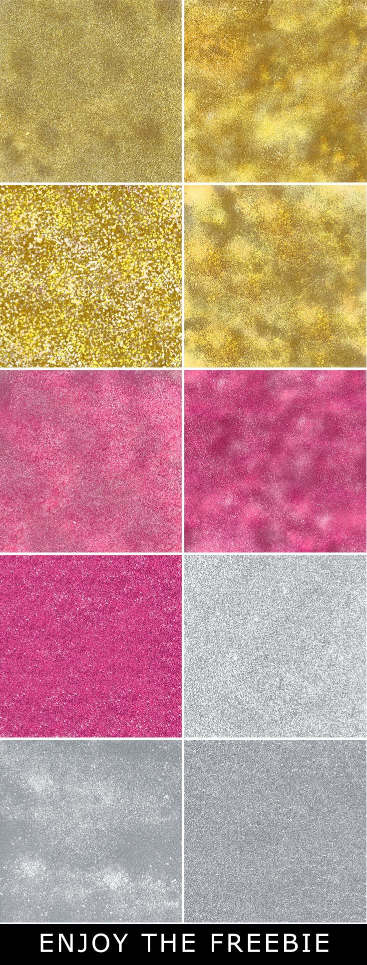 10 Free Glitter Textures