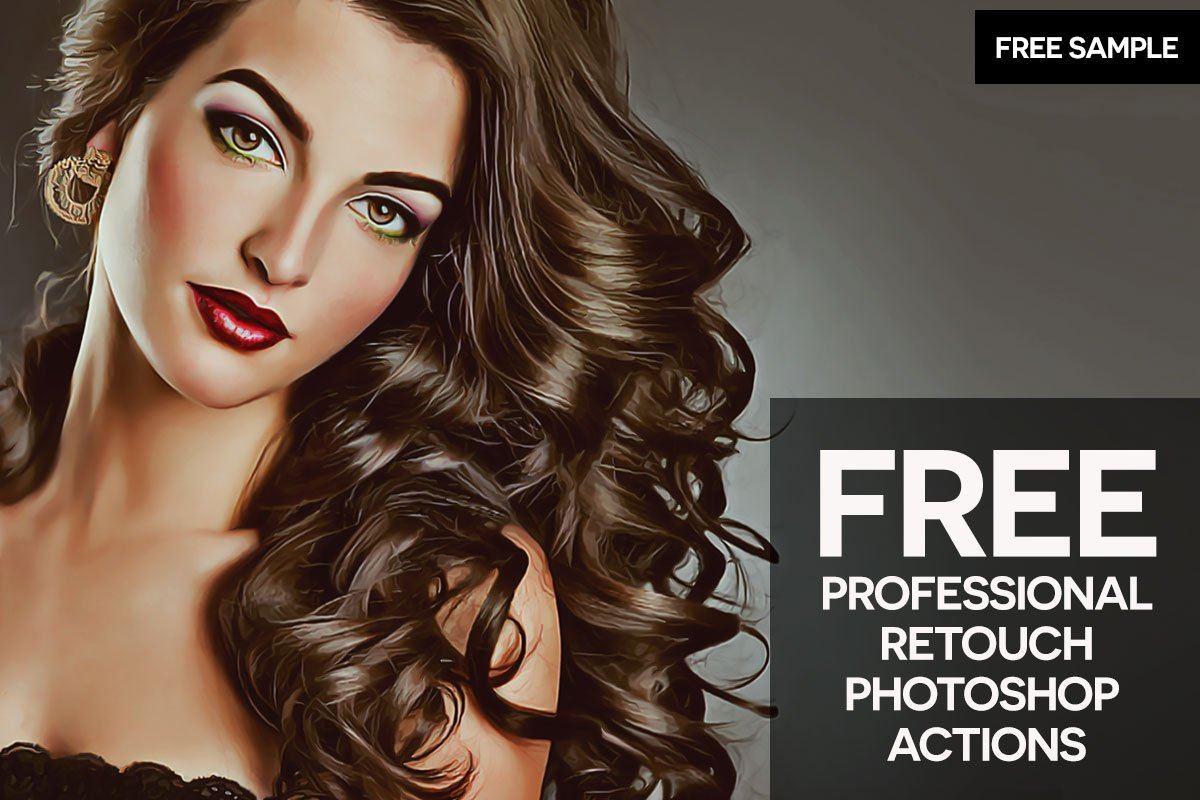 Free Professional Retouch Photoshop Actions