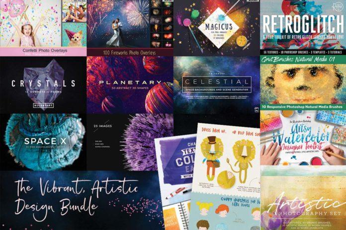 The Vibrant, Artistic Design Bundle Just $29