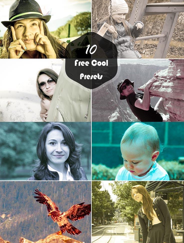 10 Free Cool Effect Lightroom Presets