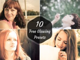 10 Free Glowing Lightroom Preset