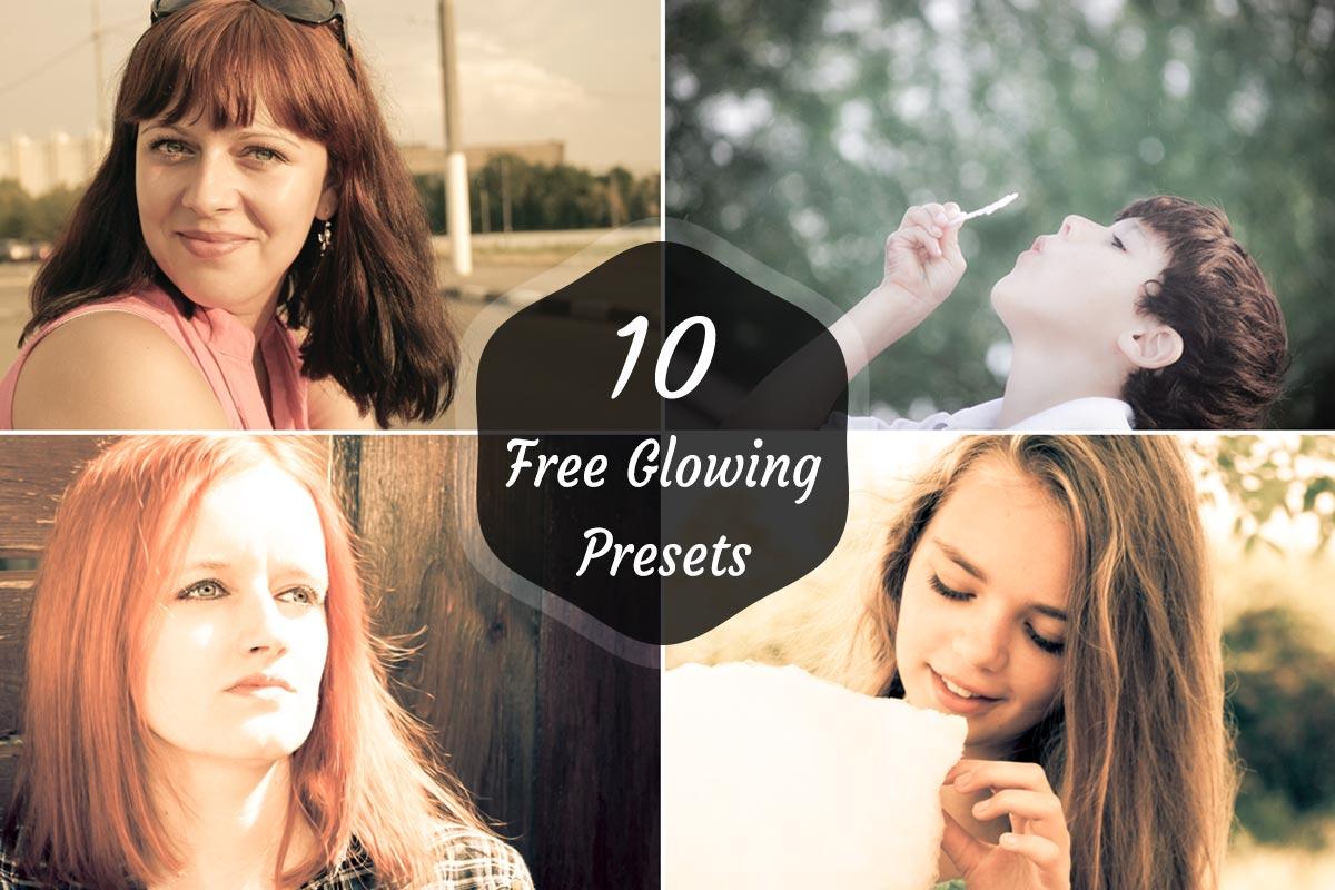 10 Free Glowing Lightroom Preset