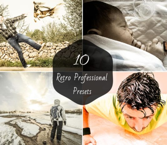 10 Free Retro Lightroom Presets