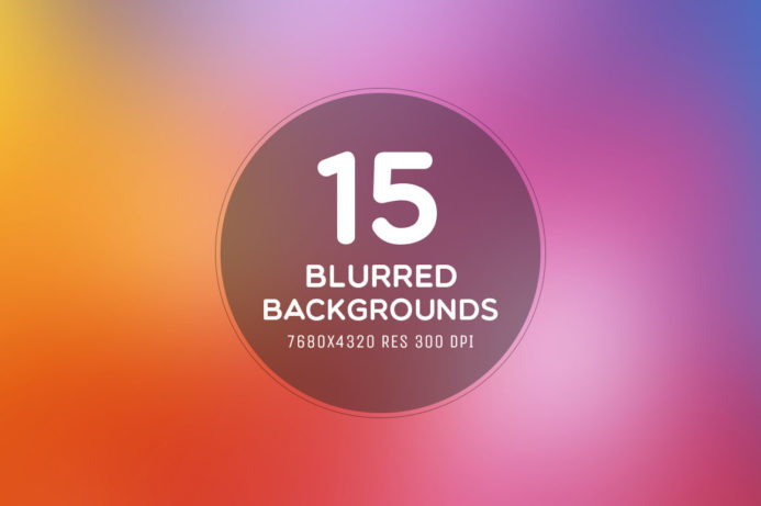 15 Free Blurred 8K Backgrounds