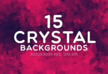 15 Free Crystal backgrounds