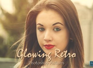 15 Free Glowing Retro Photoshop Actions Ver. 1
