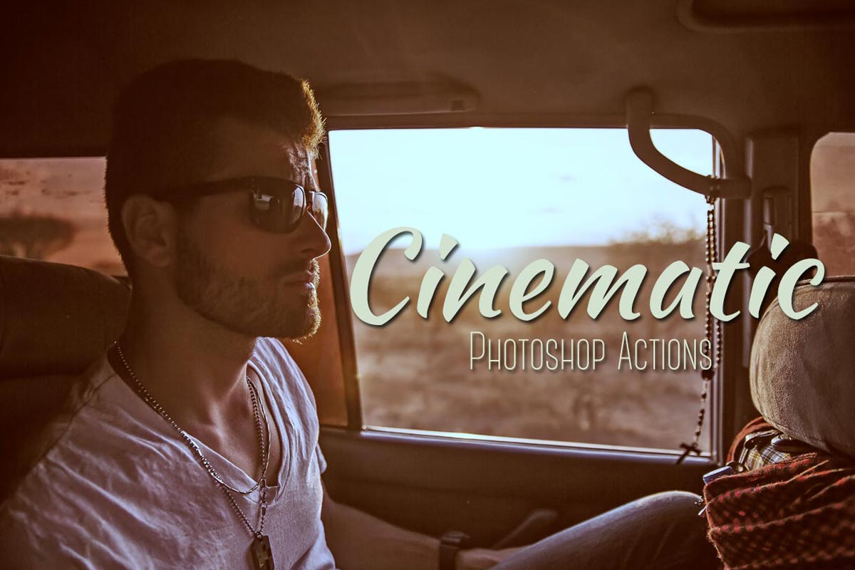 Cinematic Photoshop Actions Pack ~ Photoshop Add-Ons ...