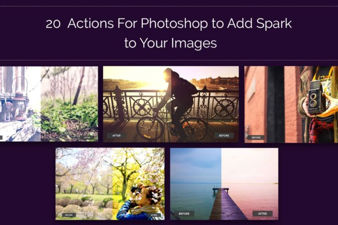 20 Free Photoshop Actions