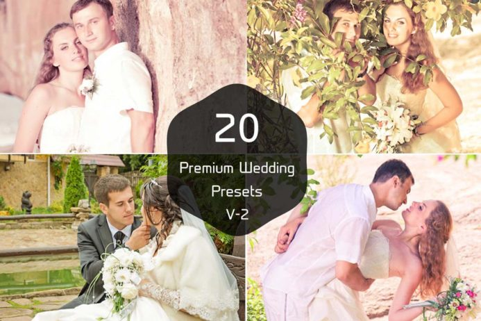 20 Free Wedding Photography Lightroom Presets Vol 2