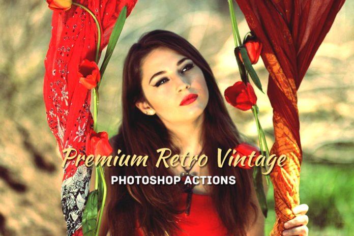 30 Free Retro Vintage Photoshop Actions