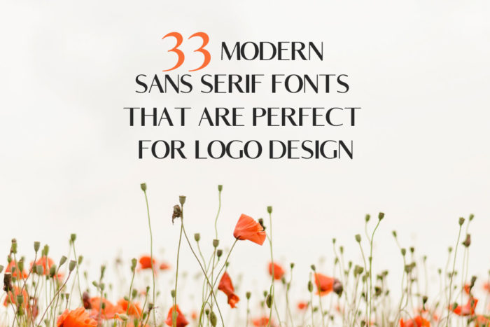 Modern Sans Serif Fonts That Are Perfect For Logo Design