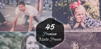 45 Matte Effect Lightroom Presets