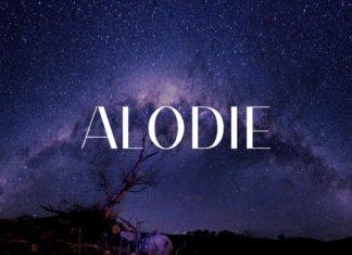 Free Alodie Sans Serif Regular Font