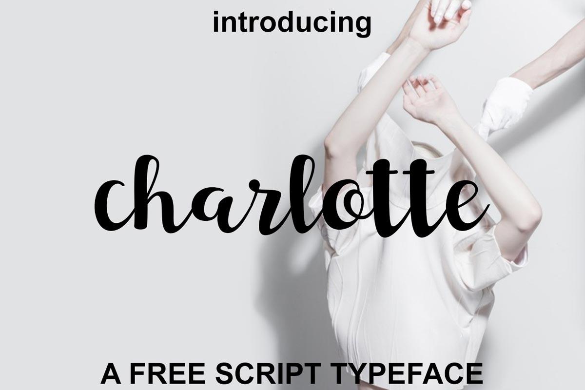 Free Charlotte Script Font