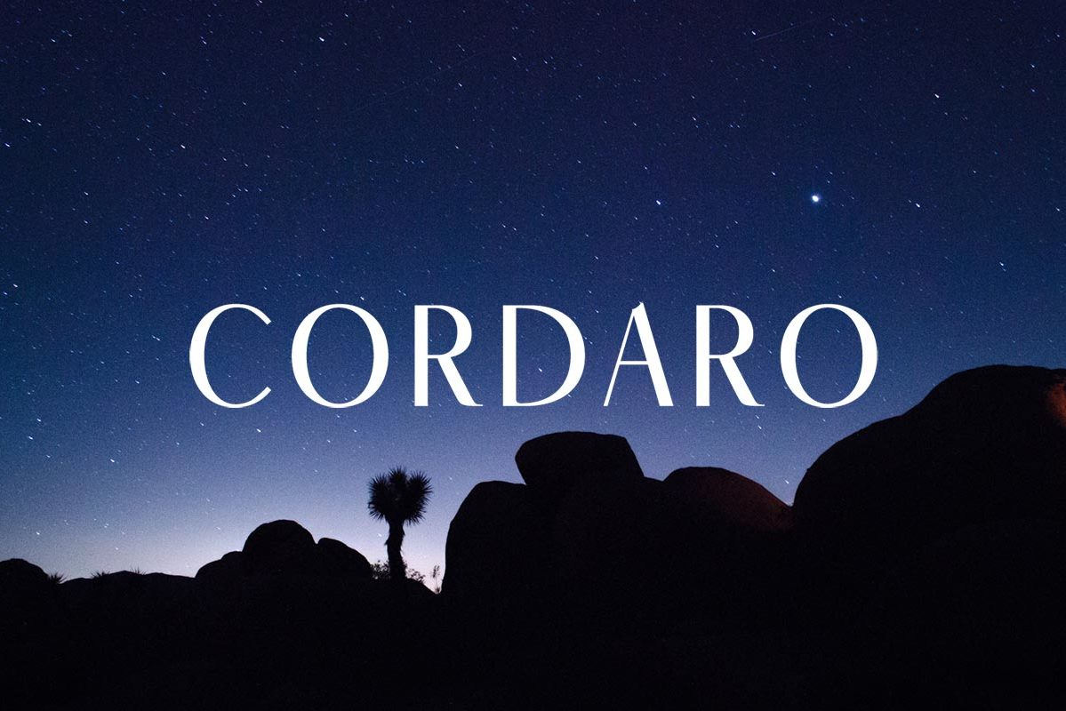 Free Cordaro SansSerif Font